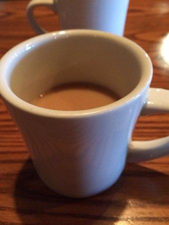 Cracker Barrel: Good coffee