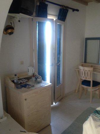 Aegean Hotel: Stanza