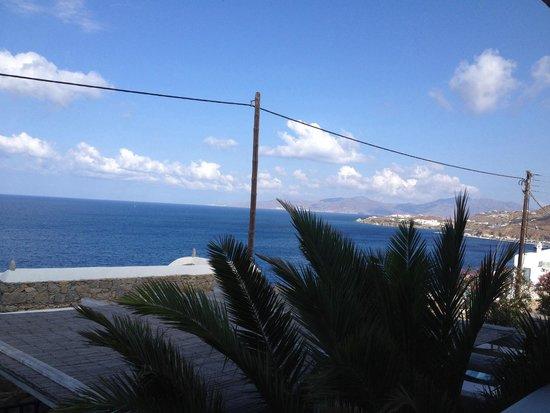 Aegean Hotel: Balconcino vista Mare
