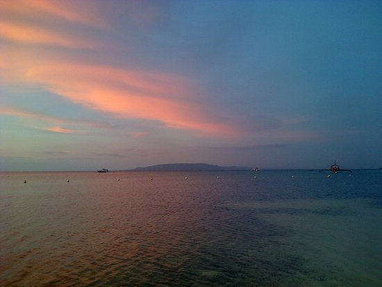 The Bellevue Resort Bohol: From the beach at Bellevue