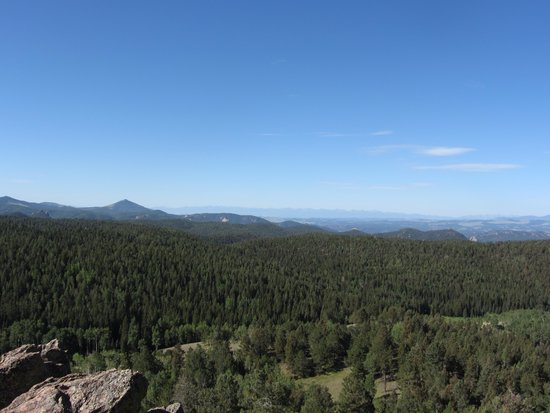Mueller State Park: Grouse Mtn Overlook