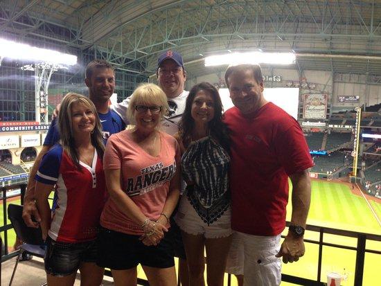 Hilton Garden Inn Houston / Sugar Land: Play Ball!