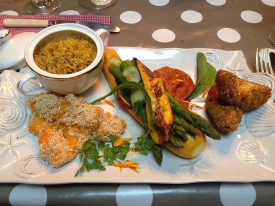 Allo's Restaurant, Bar & Bistro: A beautifully presented dinner