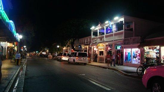Duval Street: Vida noturna.
