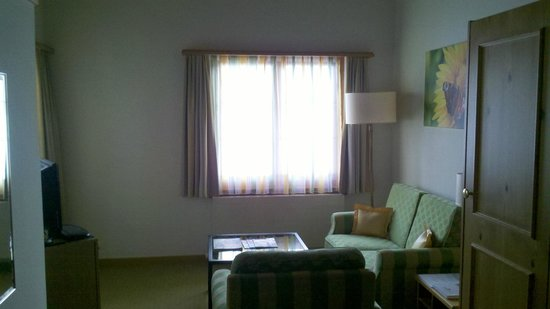 Hostellerie am Schwarzsee: Living room