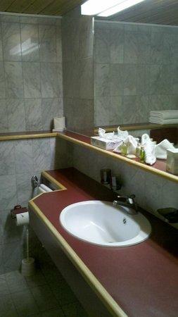 Hostellerie am Schwarzsee: Bathroom