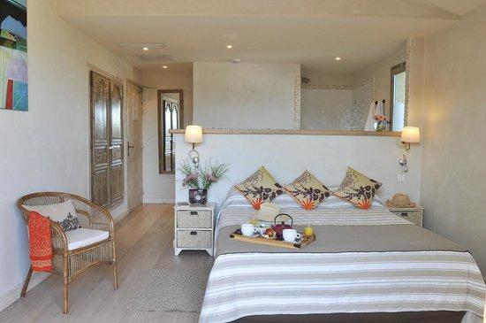 Hôtel le Goéland : Une chambre de catégorie Suite