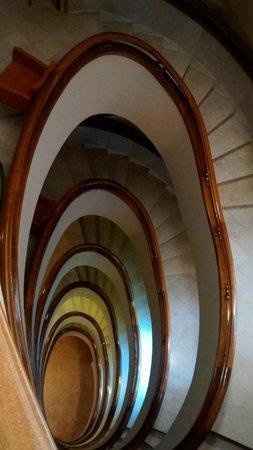 Pao de Acucar Hotel: Escadarias do hotel: desenho arquitetônico