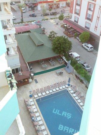 Bariscan Hotel Alanya: Вид из номера