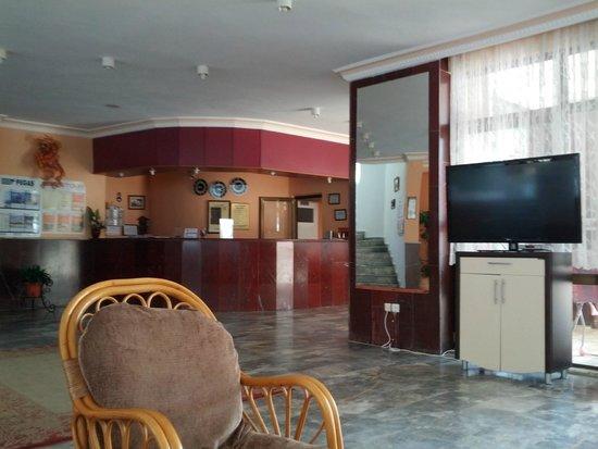 Bariscan Hotel Alanya: Холл отеля