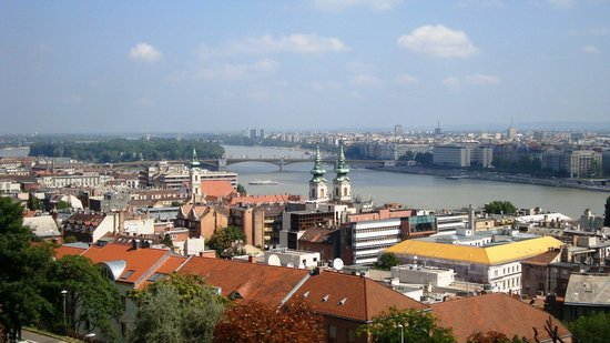 Bastion des pêcheurs : View of the Danube from the bastion