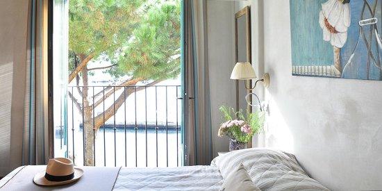 Hôtel le Goéland : Chambre de catégorie Spacieuse avec vue sur le port de plaisance