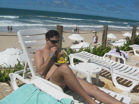Armacao Porto de Galinhas: piscina de frente para a praia