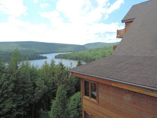Hotel Sacacomie: Magnifique vue de notre chambre