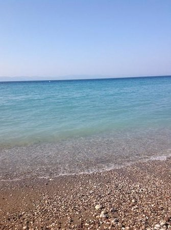 Sunprime Miramare Beach: stony but lovely :)