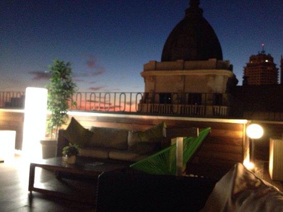Hotel Vincci Via 66: Terraza