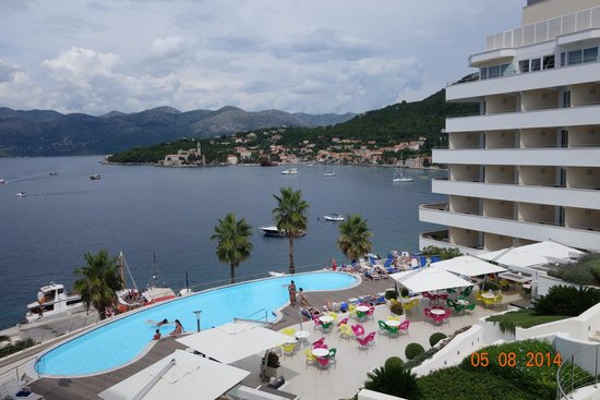 Lafodia Hotel & Resort: View from fifth floor room