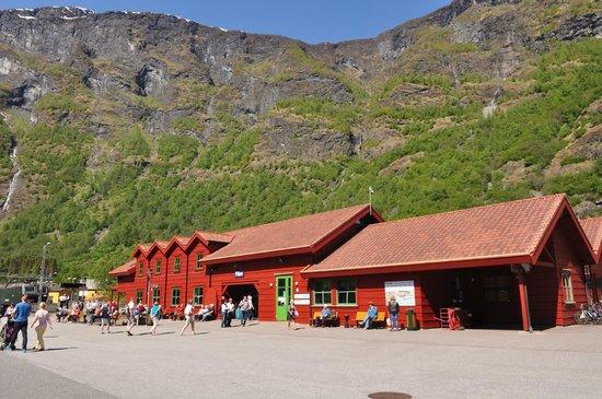 The Flam Railway: Flam Railway Station
