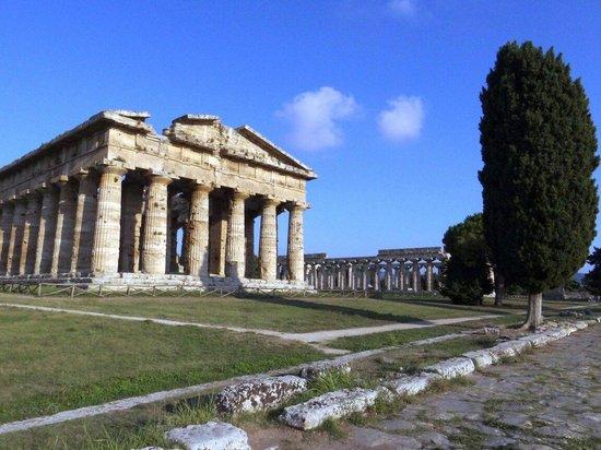 Hotel Cerere: Paestum, templi