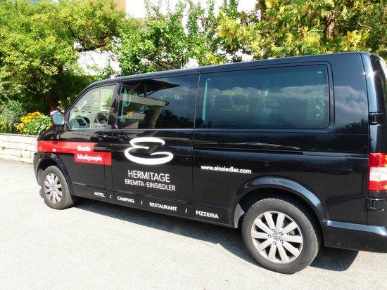 "Eremita-Einsiedler: Shuttle ""bike&people"""