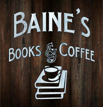 Baine's Books & Coffee: logo