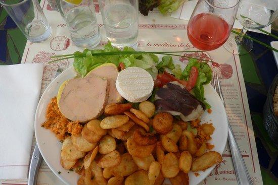 La Tonnelle : Une assiette savoureuse et plus que copieuse