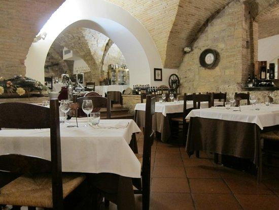 Restaurant Medioevo: beautiful decor