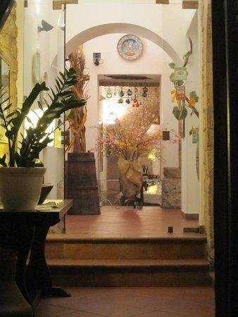 Restaurant Medioevo: entryway