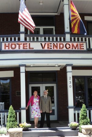 Hotel Vendome: Celebrating our 25th wedding anniversary  with friends