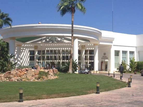 Hilton Sharm Waterfalls Resort: Façade de l'hôtel