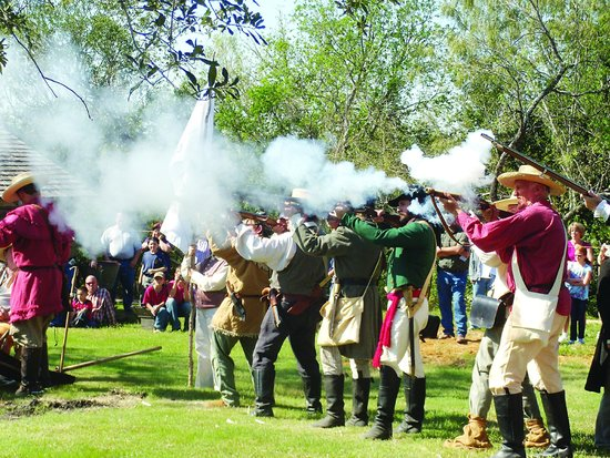 Gonzales, TX: Come and Take It Battle Re-Enactment