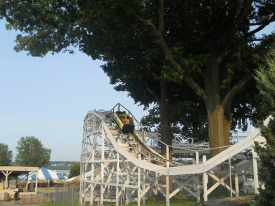 Seabreeze Amusement Park: The Bobsleds Coaster