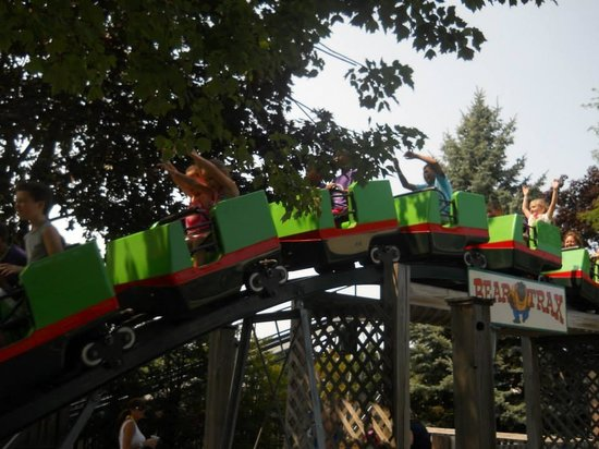 Seabreeze Amusement Park: Bear Trax Kiddie Coaster