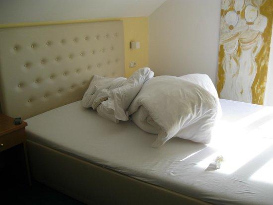 Art Hotel Pfeffermuhle : letto