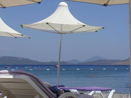 Petunya Beach Resort: la spiaggia privata