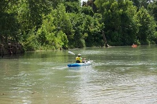 Gonzales, TX: Come and Take It and Independence Paddling Trails
