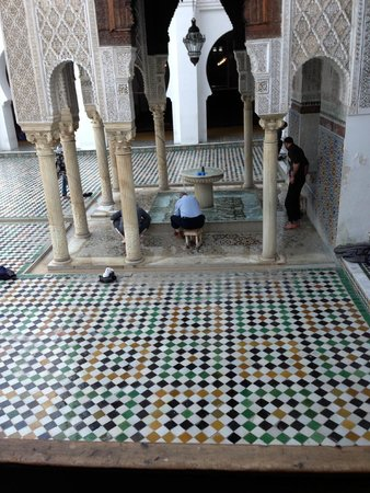 Kairaouine Mosque (Mosque of al-Qarawiyyin): l'ablution