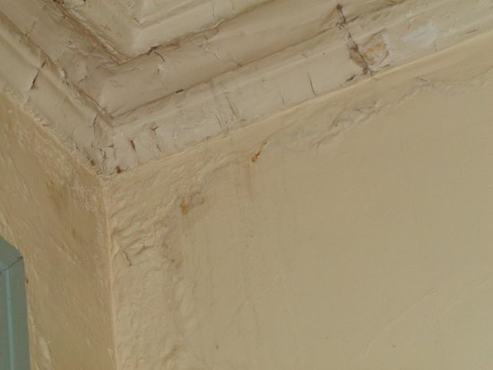 The Palace Hotel: CRUMBLING PLASTER