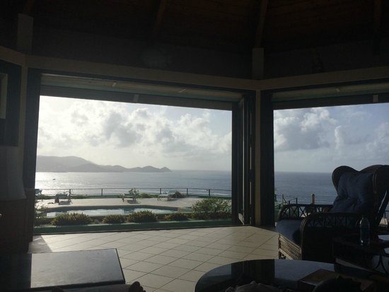 Villa Fantasia: View from the couch