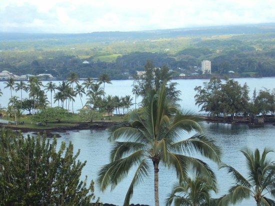 Hilo Naniloa Hotel : Linda vista