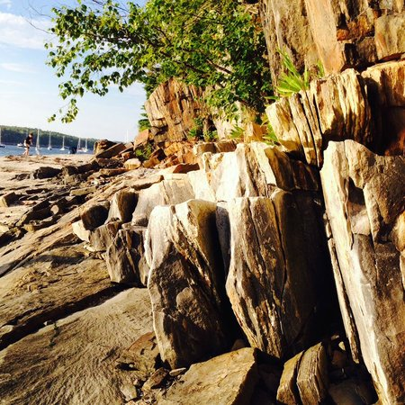 L.L. Bean Outdoor Discovery School: Rock formation