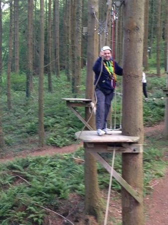Zip World Fforest: the course