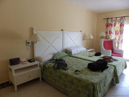 Sol Cayo Guillermo: Habitación