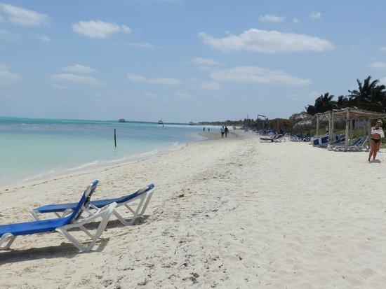 Sol Cayo Guillermo: Playa hermosa