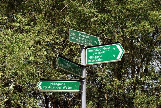 West Highland Way: indicazioni sul sentiero