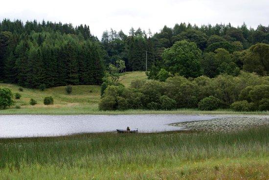 West Highland Way: inizio del lago Loch Lomon