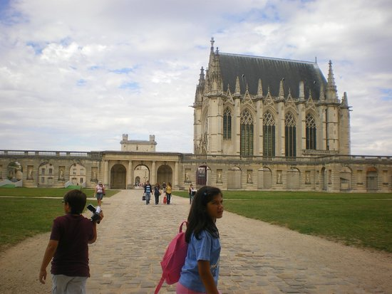 Chateau of Vincennes: ingresso