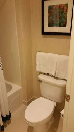 Residence Inn Phoenix Airport: Bathroom