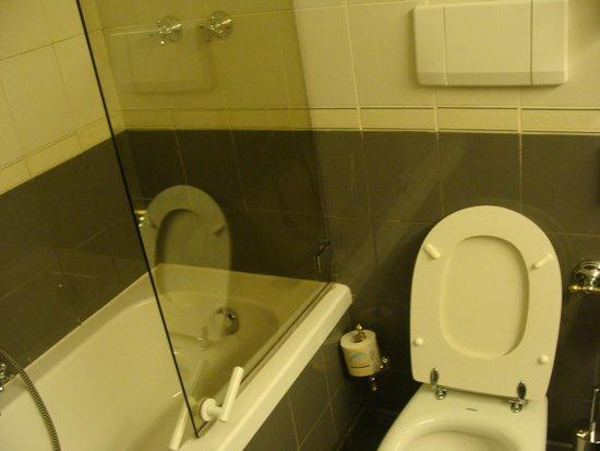 Starhotels Du Parc: Salle de bains OK