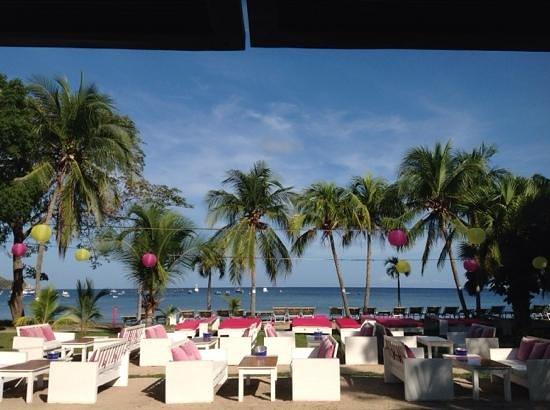 la terraza de Cafe de Playa